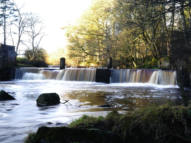Mill Force on the River Greta