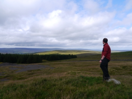 Looking towards Alston Moor from the top of Flinty Fell