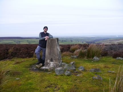 On the top of Hope Fell