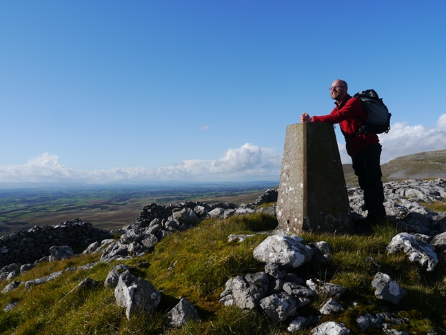 By the trig point on Musgrave Scar