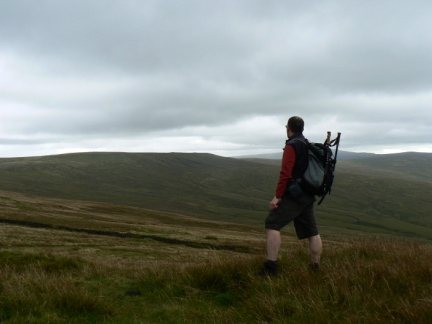 On Watch Hill looking towards Black Fell