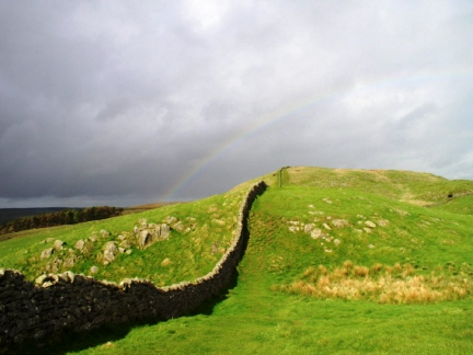 Rainbow over Winshield Crag