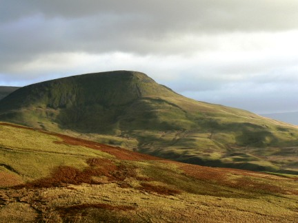 Close up of Roman Fell taken from Murton Pike