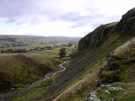 Scar Beck and Holwick Scar