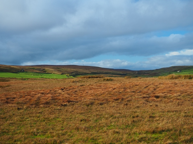 Looking towards the Stainmore Gap from Bowes Moor