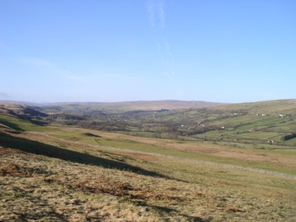 Teesdale from the Pennine Way