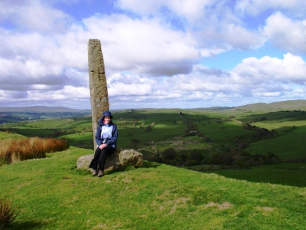 Lisa by the Long Stone