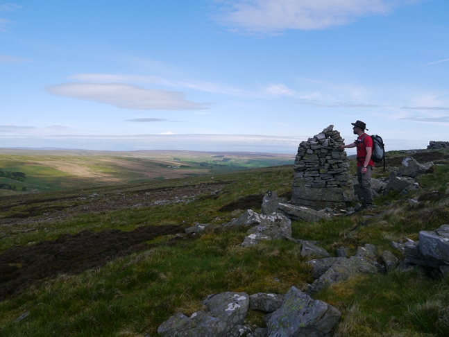 By one of the Three Curricks on Carrshield Moor