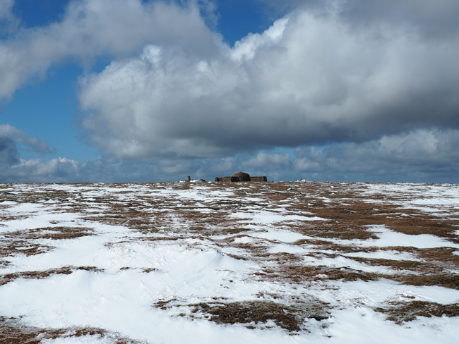 Approaching the top of Cross Fell