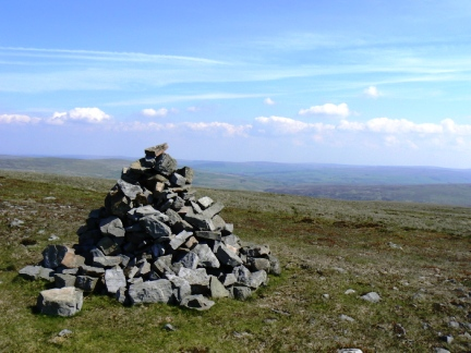 The top of Melmerby Fell