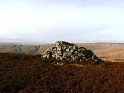 Monk's Currick on the top of Monk's Moor