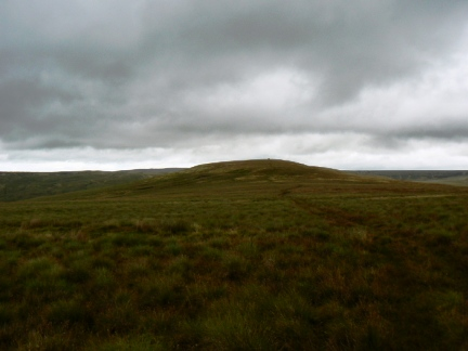 Approaching Watch Hill from Thack Moor
