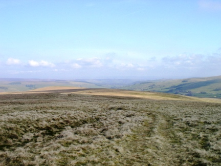 Looking north over West Allendale