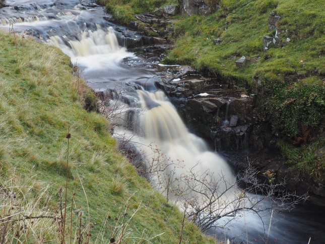 A waterfall in Wester Beck