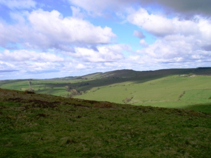 The Whin Sill Ridge from Barcombe Hill