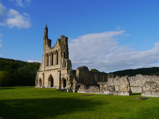 Back at Byland Abbey