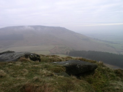Looking back at Cringle Moor from Cold Moor