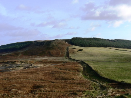 Great Ayton Moor from Roseberry Topping