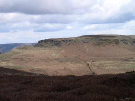 Hasty Bank and the Wain Stones from Cold Moor