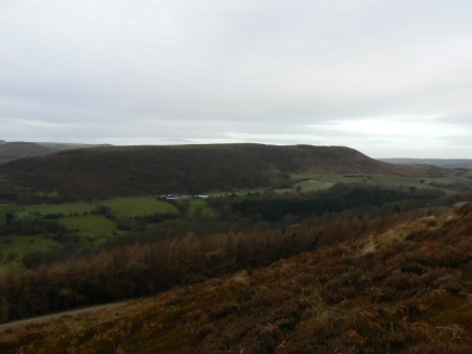 Hawnby Hill from Easterside Hill