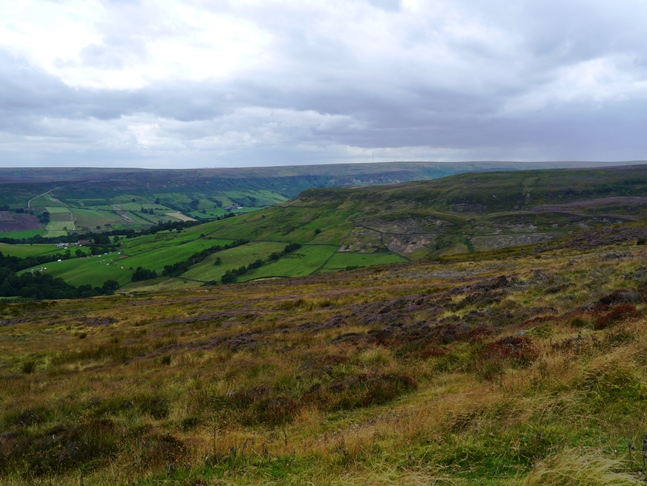 Looking towards Potter's Nab above Farndale