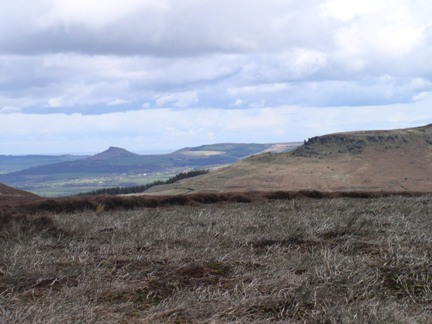 Hasty Bank and beyond to Roseberry Topping