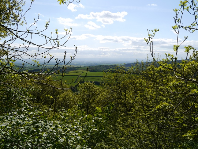 A tantalising glimpse of the view from Snever Scar