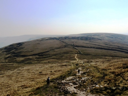 Brown Knoll from the Pennine Way