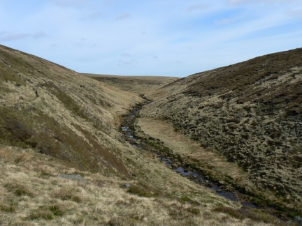 The upper reaches of Crowden Great Brook