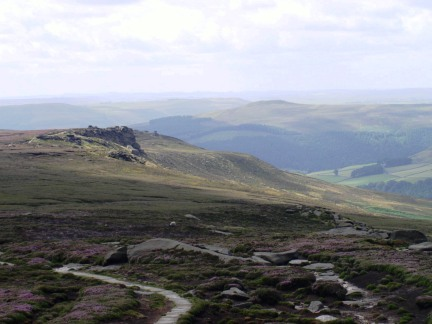 Derwent Edge from Back Tor