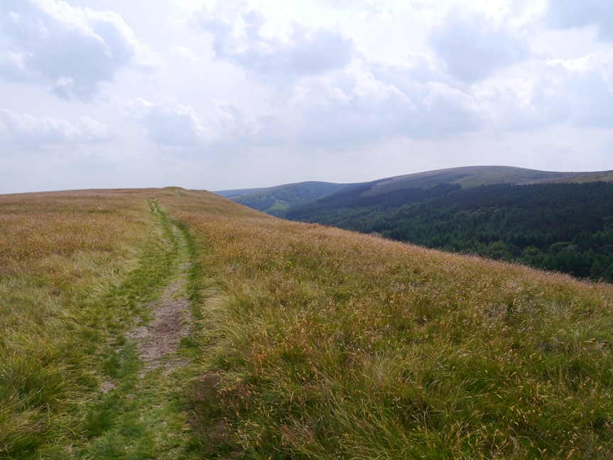 Looking towards Windgather Rocks and Eccles Pike