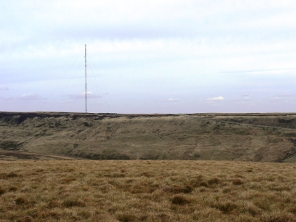 The Holme Moss transmitter
