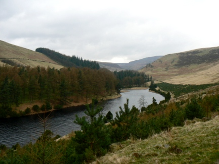 The northern end of Howden Reservoir