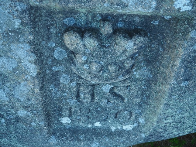 The inscription 'H.S.1830' on the side of the Duchess of Sutherland Stone