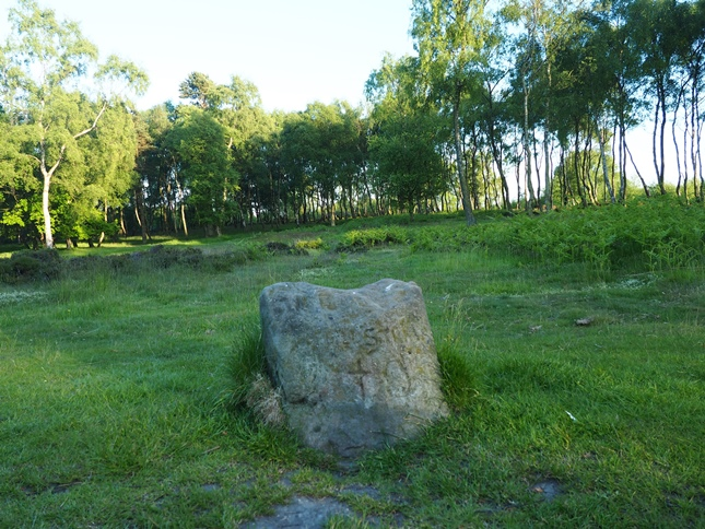 The disappointingly small King Stone