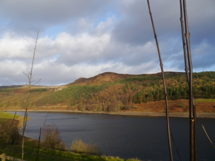 Ladybower Reservoir and Whinstone Lee Tor