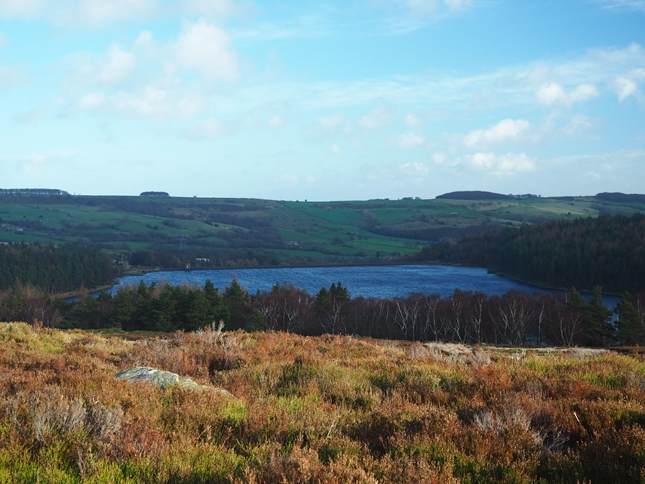 Langsett Reservoir from just above North America