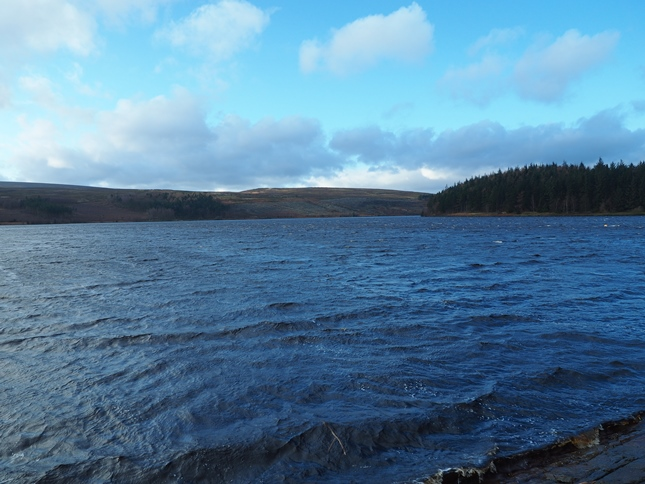 Langsett Reservoir from the dam