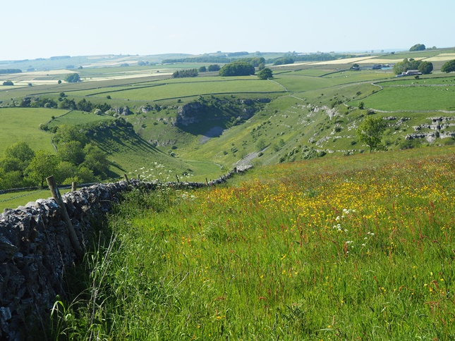A last look back down in to Lathkill Dale