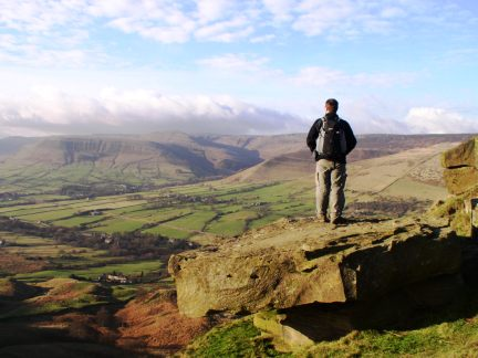 On Back Tor looking over Edale