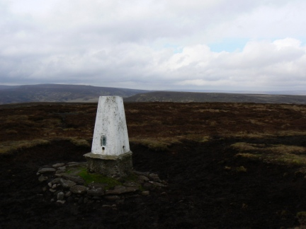 The trig point on Outer Edge