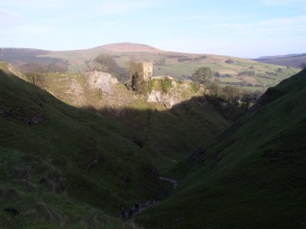 Peveril Castle and Cavedale
