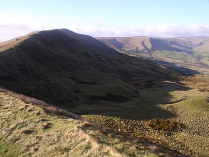 Rushup Edge from Mam Tor