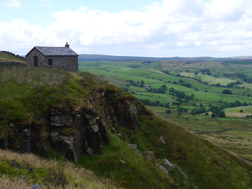 Shooting House on Combs Edge