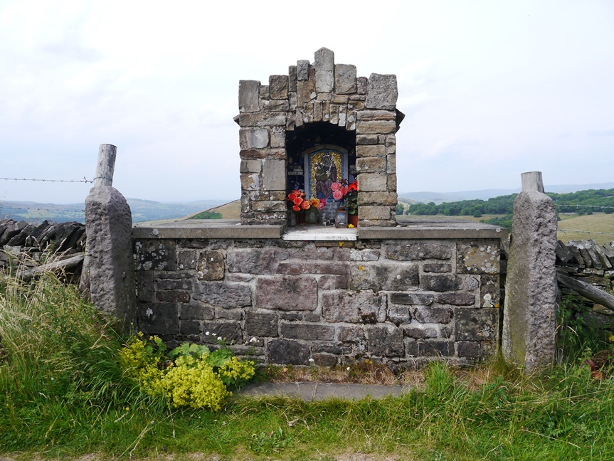The Shrine to the Blessed Virgin Mary on Goyt's Lane