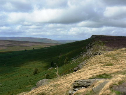 Stanage Edge looking north