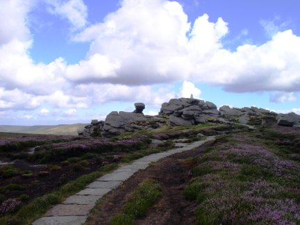 Approaching the top of Back Tor