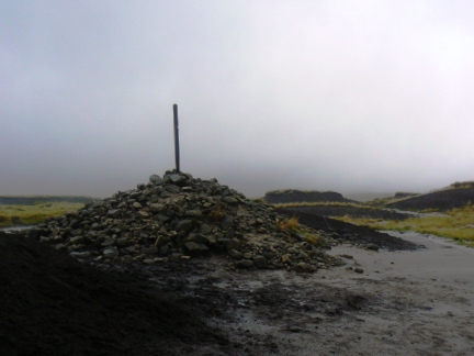 The summit of Bleaklow