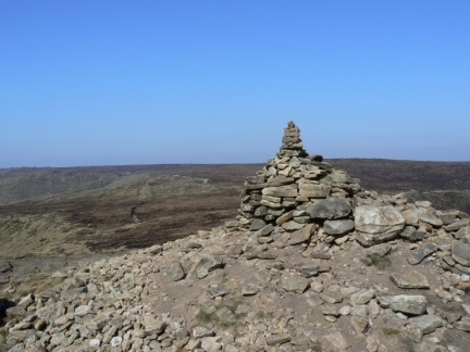 The top of Grindslow Knoll