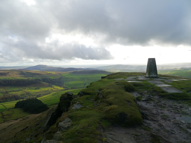 The superb summit of Shutlingsloe